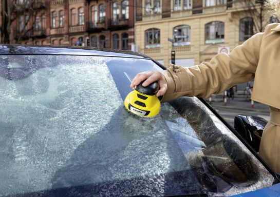 Zbavte se zamrzlých skel Vašeho auta jako profíci! Vyzkoušejte škrabku KÄRCHER EDI 4