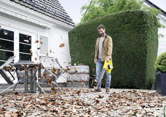 Zbavte se listí během podzimu pohodlně a rychle