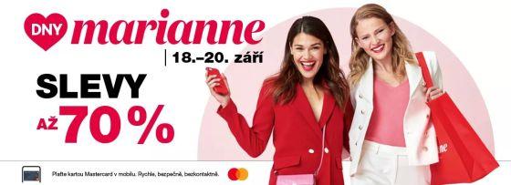 Dny Marianne 2020......navštivte naše prodejny!!!!