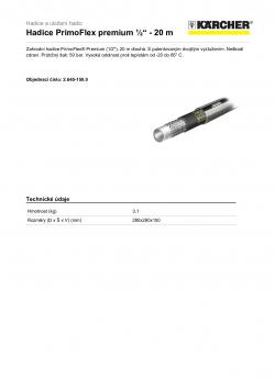 Produktový list