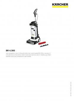 technický popis stroje BR 4.300
