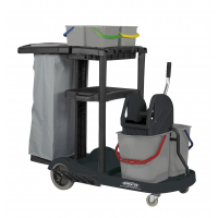 SPRINTUS - Kompletní úklidový vozík včetně pytle na odpadky, 301.133