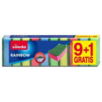 Vileda Rainbow houbička 9+1ks
