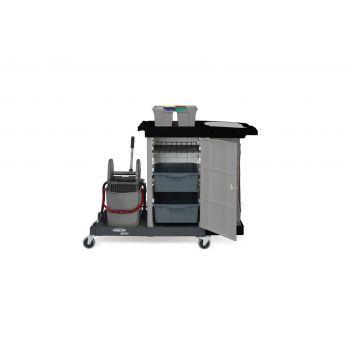 SPRINTUS - Plně vybavený uzamykatelný úklidový vozík MatriX, 304.001