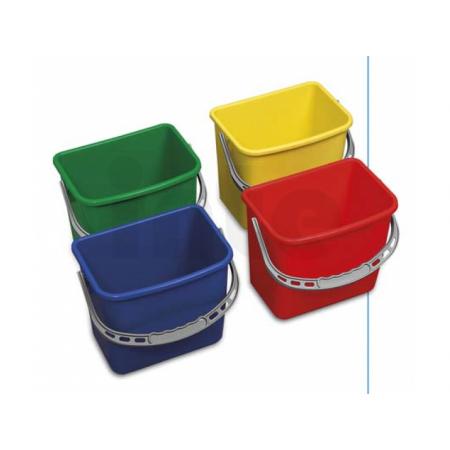 EASTMOP Kbelík 6 l (červený,modrý, žlutý, zelený)