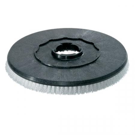 Kotoučový kartáč Kärcher - střední tvrdost - průměr 200 mm (červený)