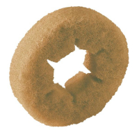 Válcový pad Kärcher - měkký - průměr 105 mm (žlutý) - 20 ks