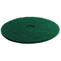 Pad Kärcher - středně tvrdý - 365 mm (zelený) - 5 ks