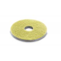 Diamantový pad Kärcher - jemný - 385 mm (zelený) - 5 ks