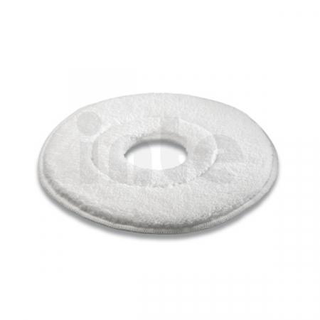 Pad z mikrovlákna Kärcher - 432 mm (bílý) - 5 ks