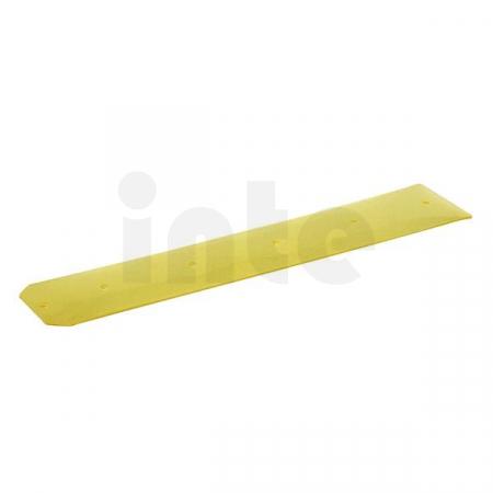 Gumová stírací lišta KÄRCHER (průhledná) pro čisticí hlavu, odolná vůči olejům, levá - 1 ks