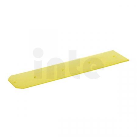 Gumová stírací lišta KÄRCHER (průhledná) pro čisticí hlavu, odolná vůči olejům, pravá - 1 ks