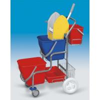 EASTMOP KAMZÍK 2x17 l provedení košík, kbelík úklidový vozík