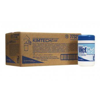 KIMBERLY-CLARK PROFESSIONAL KIMTECH* WETTASK DS Utěrky,malá role, 12x35utěrek + zásobník