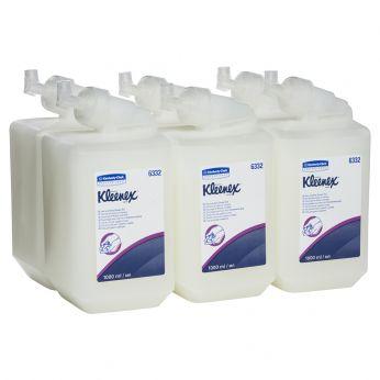 KIMBERLY-CLARK PROFESSIONAL Mýdlo vlasový a sprchový gel, 6 x 1 litr cartridge