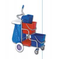 EASTMOP KAMZÍK 2x17 l úklidový vozík - držák pytle na odpadky 70 l