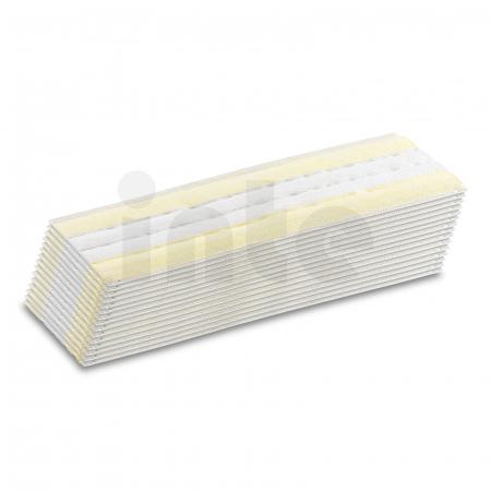 jednorázové utěrky na podlahu KÄRCHER EasyFix pro parní čističe, 15 ks