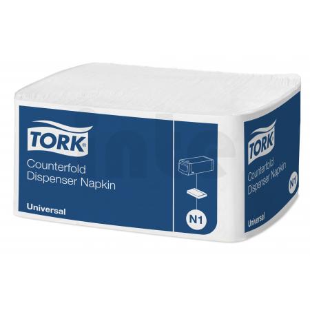 TORK bílý ubrousek do zásobníku Counterfold 7 200 ks