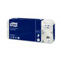 TORK toaletní papír konvenční role Universal – 2vrstvé - 6 bal. x 10 rolí x 250 útržků