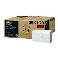 TORK Singlefold zelené papírové ručníky - 3 750 útržků