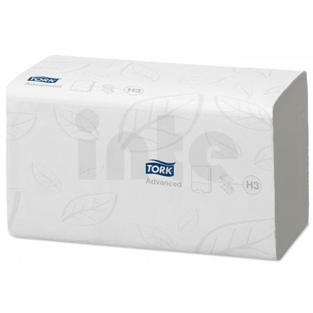 TORK Singlefold Flushable papírové ručníky - 3 750 útržků