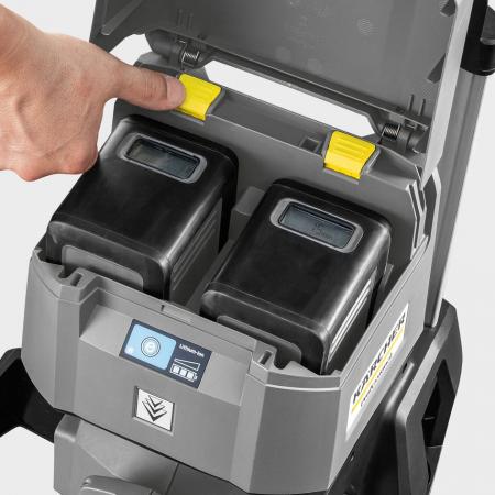 Vysokotlaký čistič na baterie KÄRCHER HD 4/11 C Bp, bez baterie 1.520-928.0