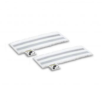 KÄRCHER Sada utěrek z mikrovlákna s abrazivem pro podlahovou hubici EasyFix, 2 ks 2.863-309.0