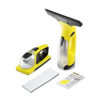 set čističe oken KÄRCHER WV 2 Premium Plus a vibračního bateriového čističe KÄRCHER KV 4 1.633-218.0